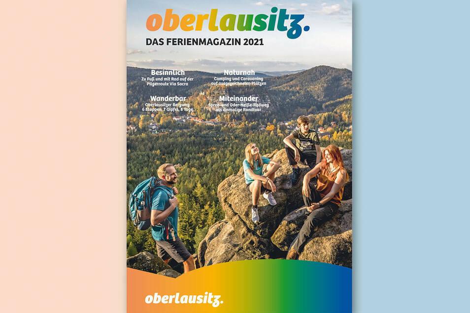 Neu erschienen ist jetzt das Ferienmagazin 2021 für die Oberlausitz. Verteilt wird es voraussichtlich aber erst ab Mitte Januar.