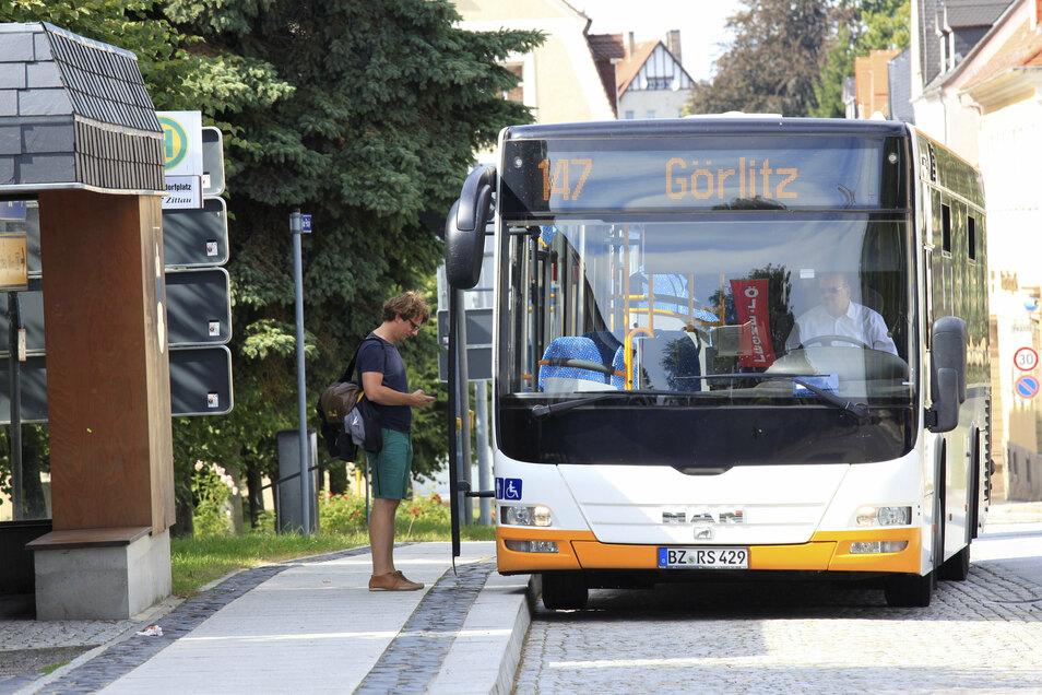 Herrnhut ist im neuen Liniennetzplan für den Busverkehr ein wichtiger Dreh- und Angelpunkt verschiedener Linien.
