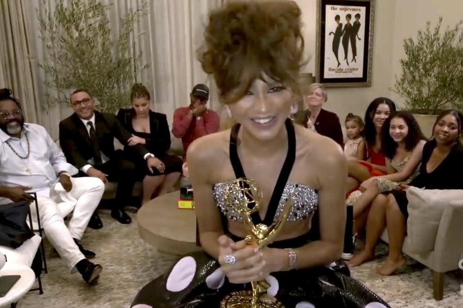Die Schauspielerin Zendaya wurde als beste Hauptdarstellerin ausgezeichnet.