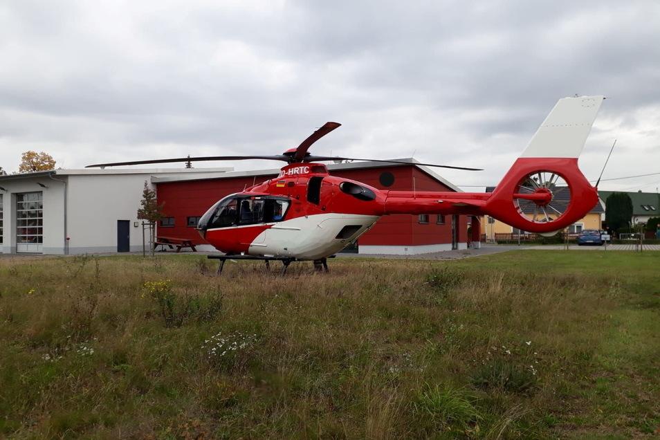 April, April: Den Hubschrauber für die Zeithainer Feuerwehr wird es so schnell nicht geben.