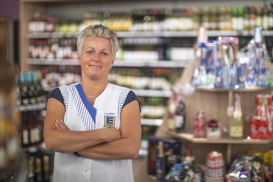 Ivonne Bühler hatte den Edeka-Markt an der Breitscheidstraße vor zehn Jahren übernommen. Die gelernte Einzelhandelskauffrau war zuvor schon Leiterin des Marktes.
