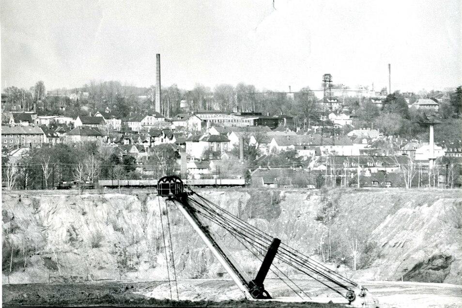 Die Kohleförderung im Tagebau Olbersdorf endete im September 1991.