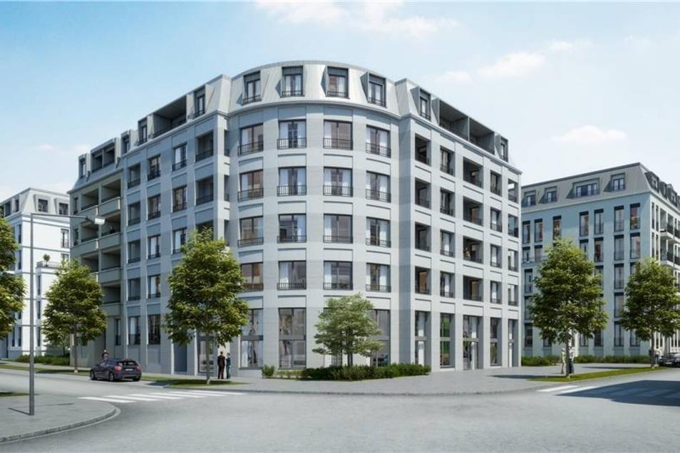 Mika-Gesellschafter Erik Sassenscheidt baut hier 900 Wohnungen. 200 Millionen Euro kostet der Bau.