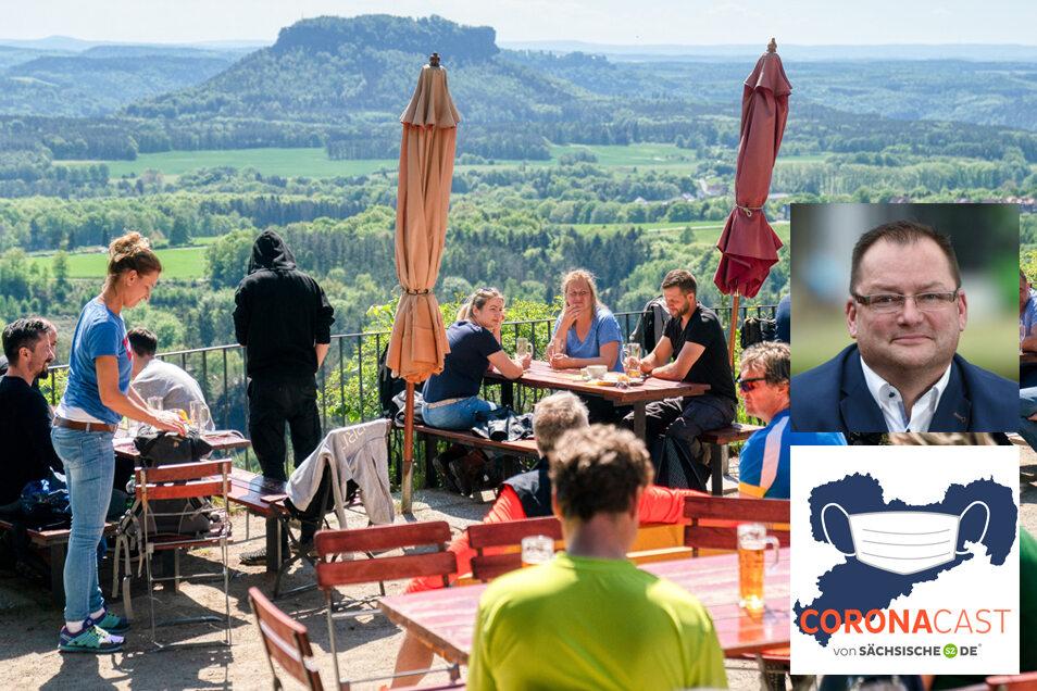 Axel Klein vom sächsischen Hotel- und Gastro-Verband erklärt im CoronaCast, was seine Branche an den kommenden Corona-Regeln kritisiert.