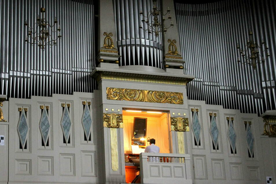 Die Orgel der Stadthalle ist die historisch bedeutendste in Görlitz, weil sie die älteste original erhaltene ist. Bei einem Orgelspaziergang im Mai soll man auch sie besuchen können.