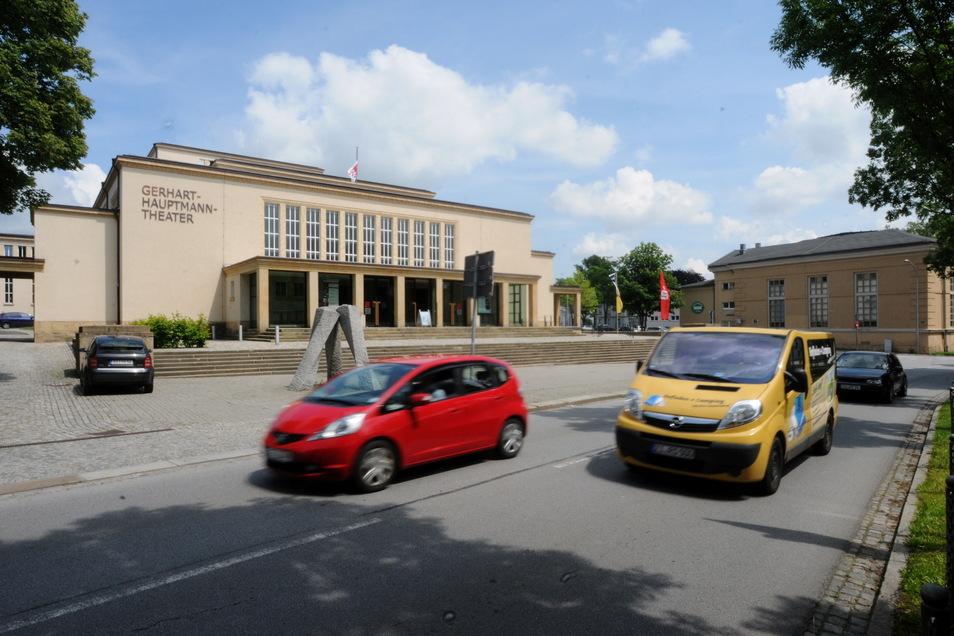 Das Zittauer Theater.