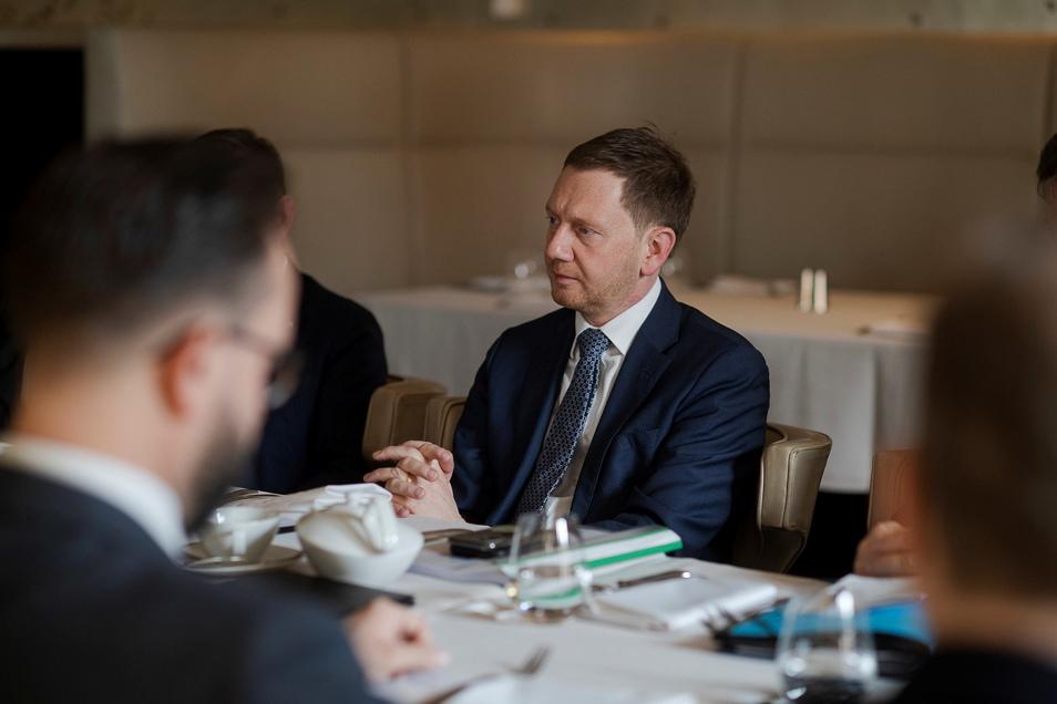 Frühstücken mit der Deutsch-Russischen Außenhandelskammer zum Thema Strukturentwicklung und Kohleausstieg.