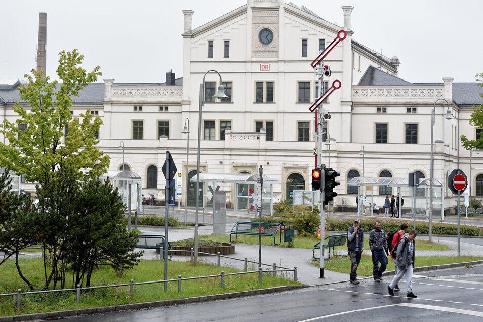 In Sachen Fahrradabstellmöglichkeiten sieht der ADFC am Zittauer Bahnhof viel Verbesserungspotenzial.