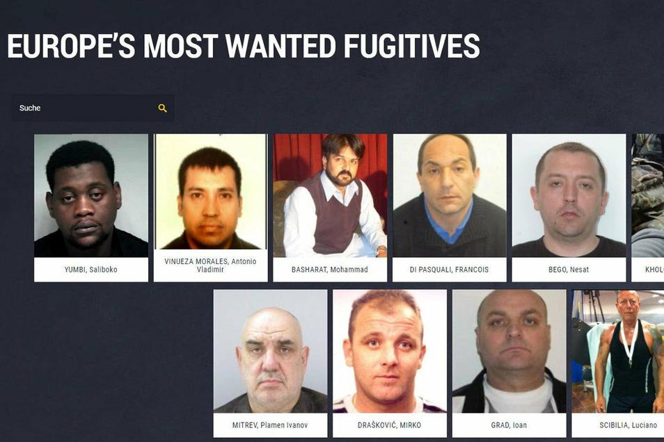 Europol setzt bei der Fahndung nach den gefährlichsten Sexualstraftätern Europas auf Mithilfe der Bürger.