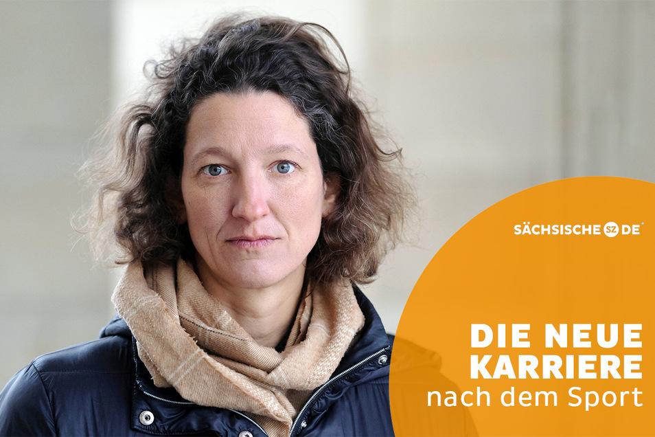 Die ehemalige Schwimmerin und Grünen- Kandidatin für den Landtag von Sachsen-Anhalt, Antje Buschschulte.