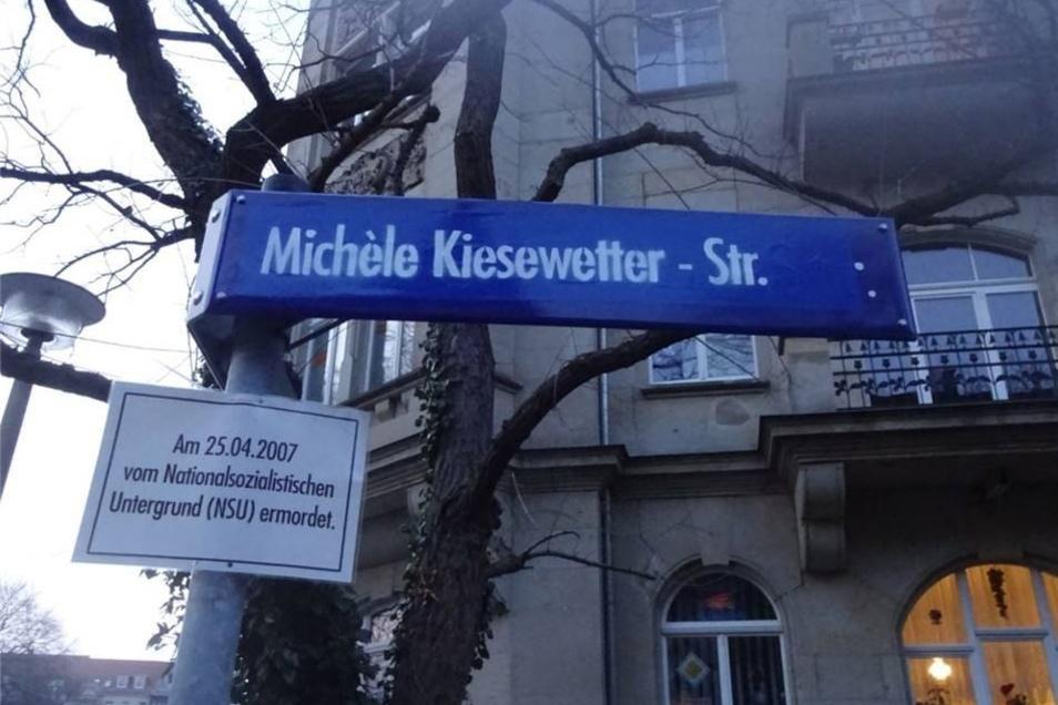 Die Michèle Kiesewetter-Straße heißt eigentlich George-Bähr-Straße.