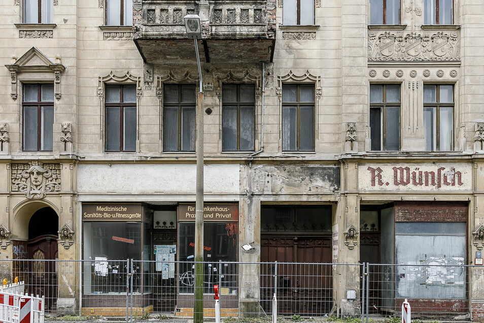 Das Haus Bismarkstraße 18 in Görlitz steht jetzt im Internet für knapp 100.000 Euro zum Weiterverkauf. © nikolaischmidt.de
