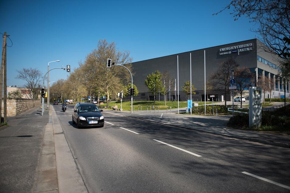 Gut  15.000 Autos befahren die Magdeburger Straße  täglich.