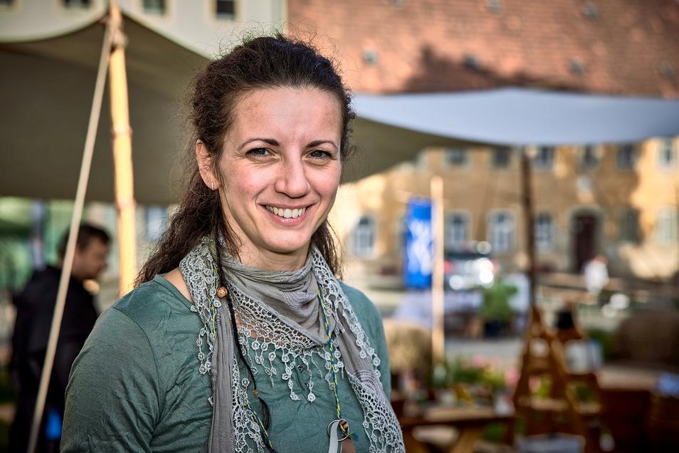 Eine ideale Kombination: Kathrin Penndorf ist Mittelalterfan und leitet das Dohnaer Museum.