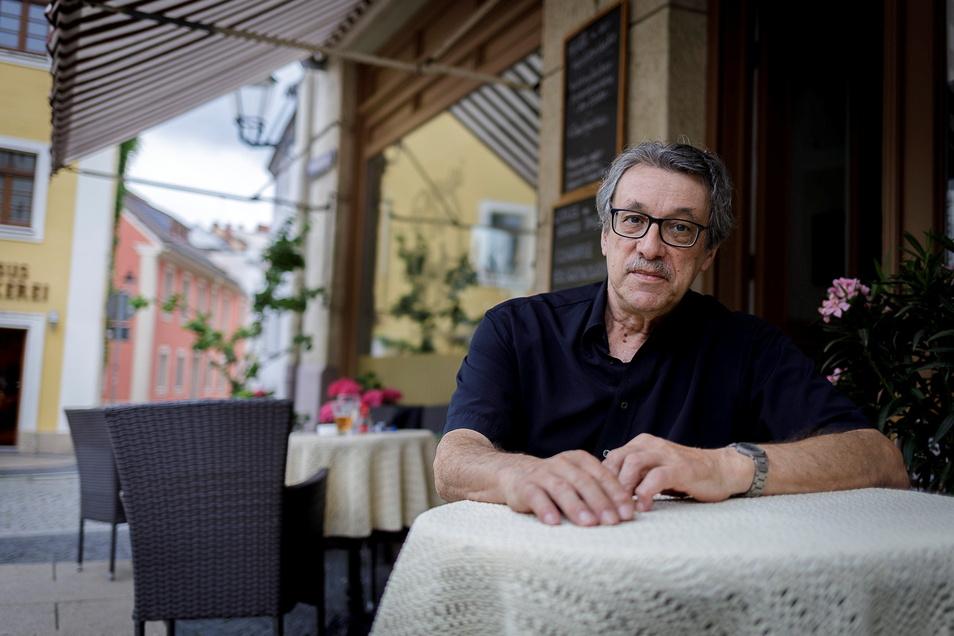 Der Gastwirt Johannes Witoschek gehört zu den Görlitzern des Jahrgangs 1946. Er wuchs in der Südstadt auf.
