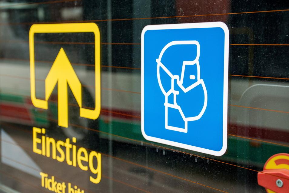 Weiterhin gilt in den Bussen eine FFP2-Maskenpflicht in den Bussen von Regiobus Mittelsachsen.