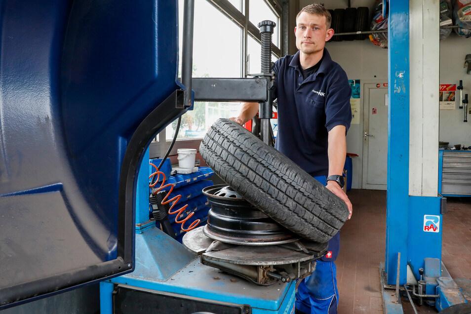 Bei Franke Tank in Zittau gibt es wieder offiziell eine Reparaturwerkstatt.