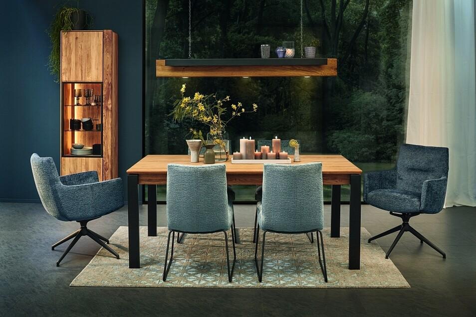 Moderne Behaglichkeit mit hochwertigen und nachhaltigen Möbeln: das ist das Credo im Einrichtungshaus Käppler.