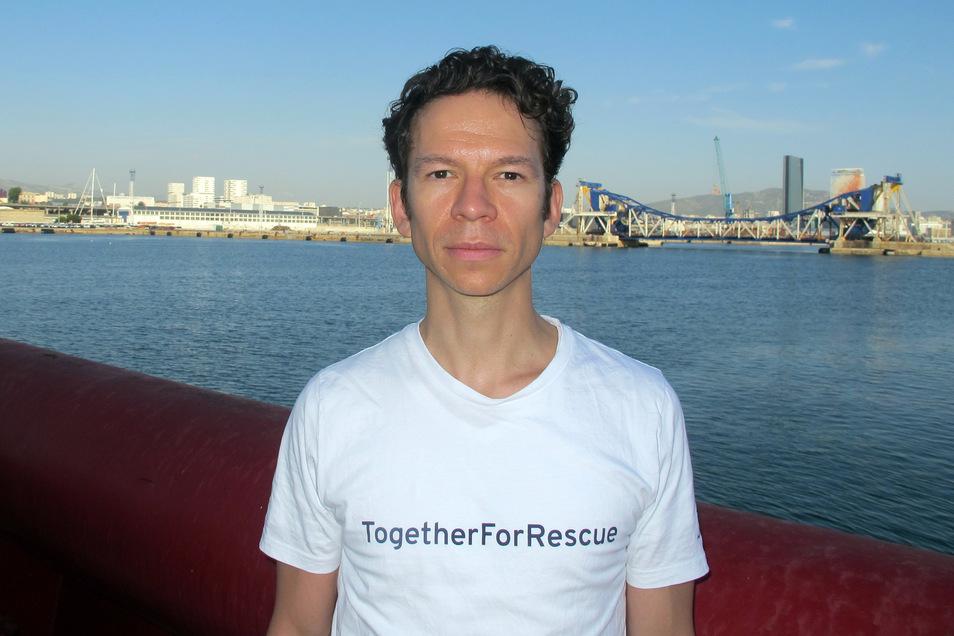 David Starke, Geschäftsführer «von SOS Mediterranée»