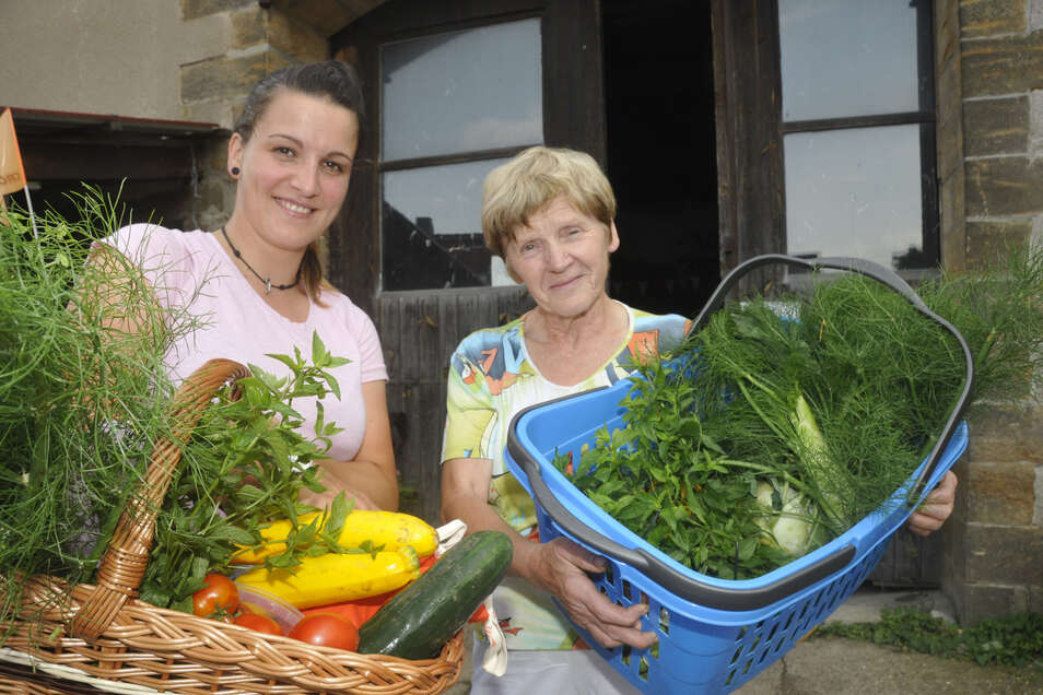 Gemüse aus biologischem Anbau gibt es auf dem Schellehof in Struppen.