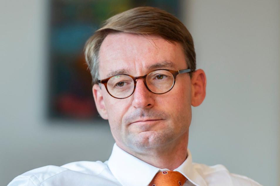 In die Kritik geraten: Sachsens Innenminister Roland Wöller.