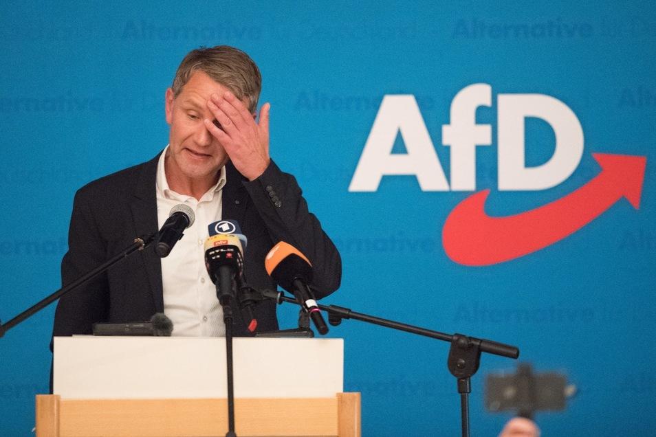 Der rechtsnationale AfDler Björn Höcke wird zum Wahlkampf in Döbeln erwartet.