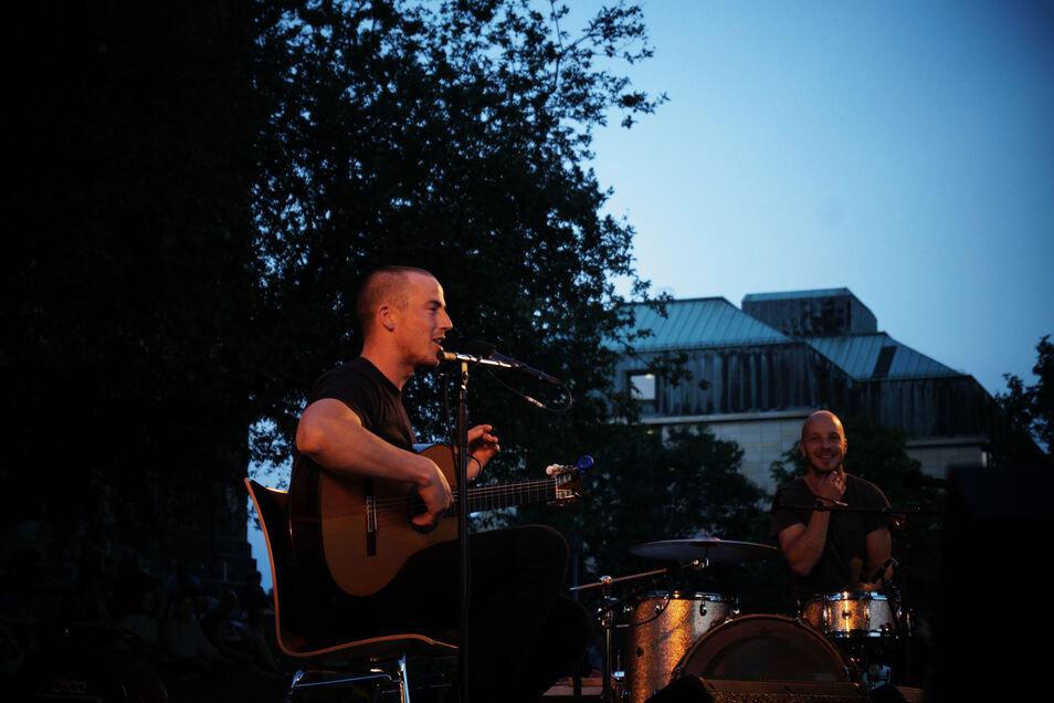 Konzert von Charlie Cunningham 2017 beim Palais Sommer