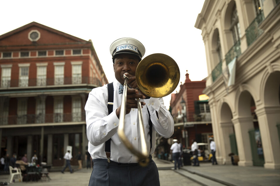Mustache Hear the Music New Orleans, Louisiana