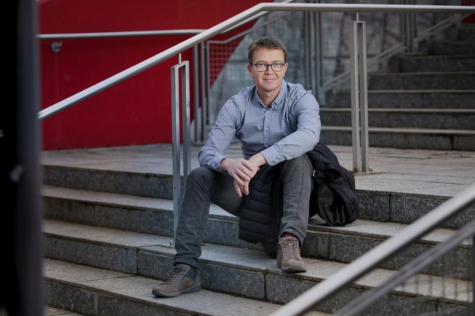 Robert Baumgarten arbeitet hauptamtlich als Geschäftsführer des Stadtsportbundes Dresden.
