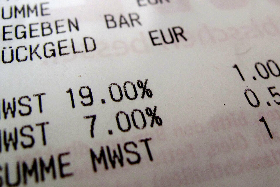 Am 1. Juli sinkt die Mehrwertsteuer.