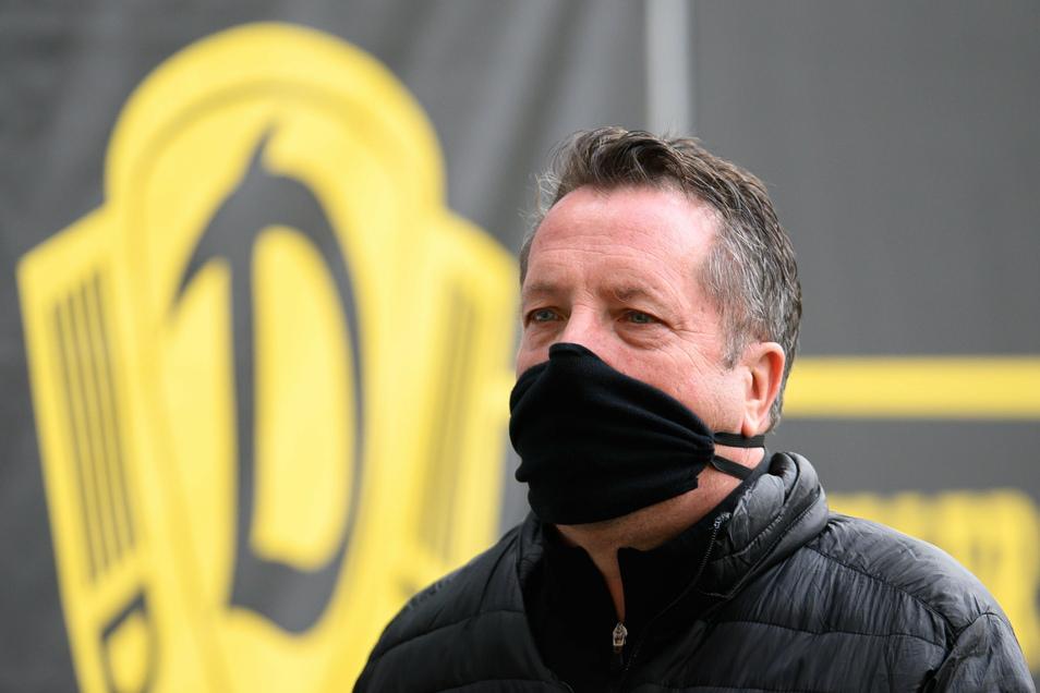 Dynamos Trainer Markus Kauczinski bleibt vorsichtig - auch in Bezug auf den nächsten Gegner, Aufsteiger SC Verl.