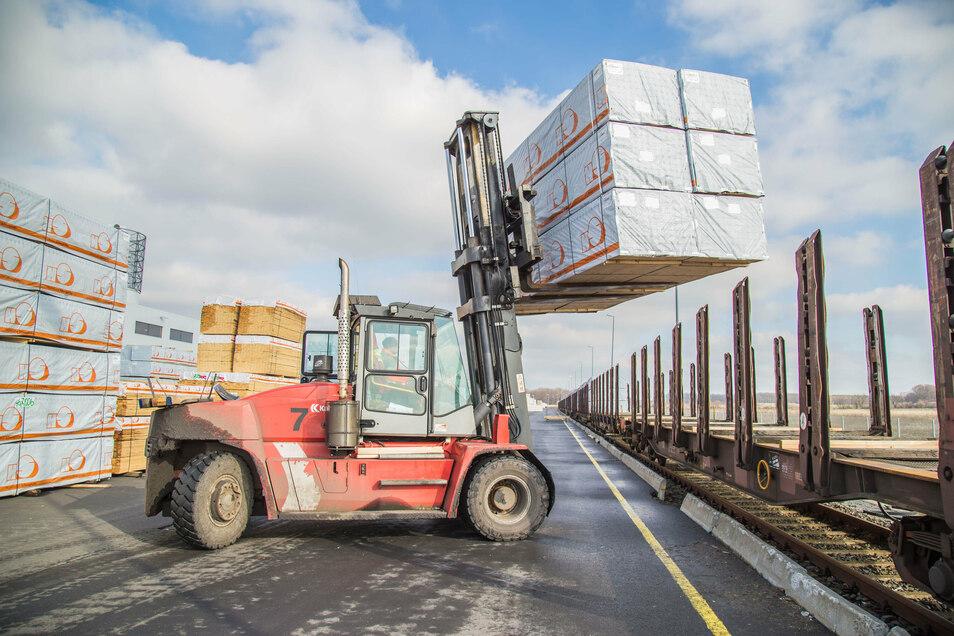 HS Timber Productions liefert traditionell hauptsächlich für den Export. Nur geringe Mengen Schnittholz gehen in den deutschen Markt.