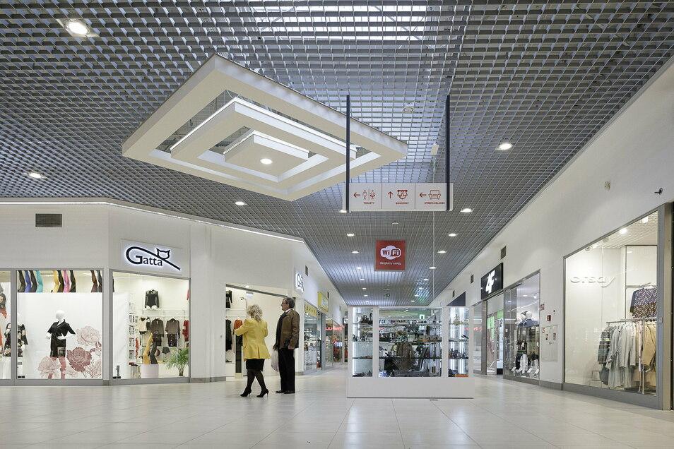 Einkaufszentren wie die Galeria Slowianska in Zgorzelec dürfen wieder öffnen ab Sonnabend.
