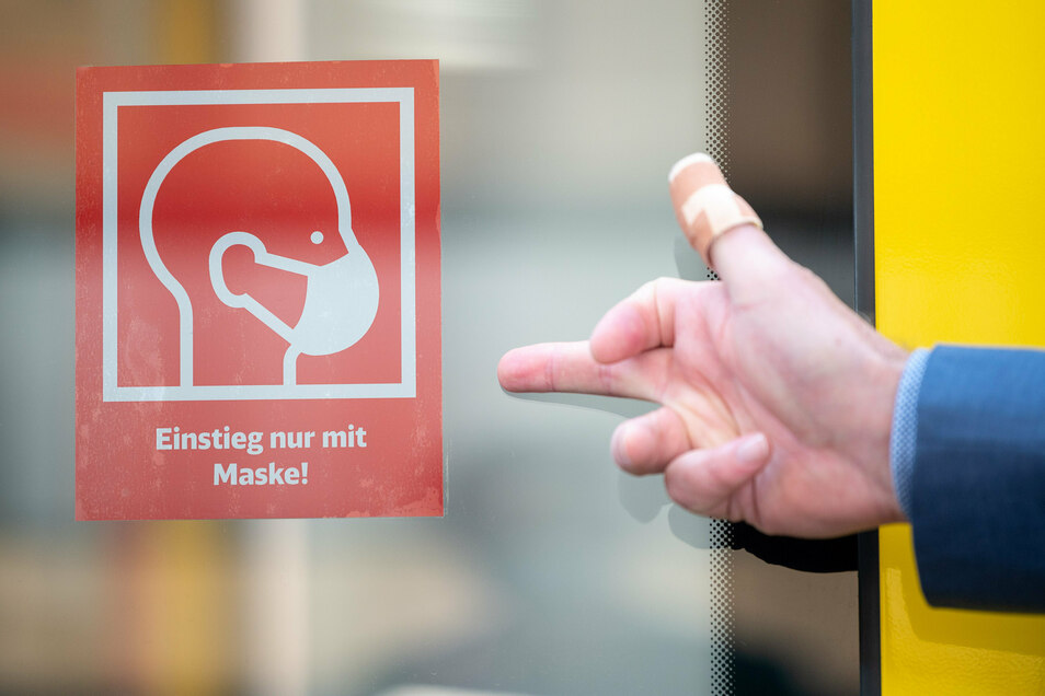 In Bayern gilt wegen der Corona-Pandemie generell eine Maskenpflicht in öffentlichen Verkehrsmitteln.