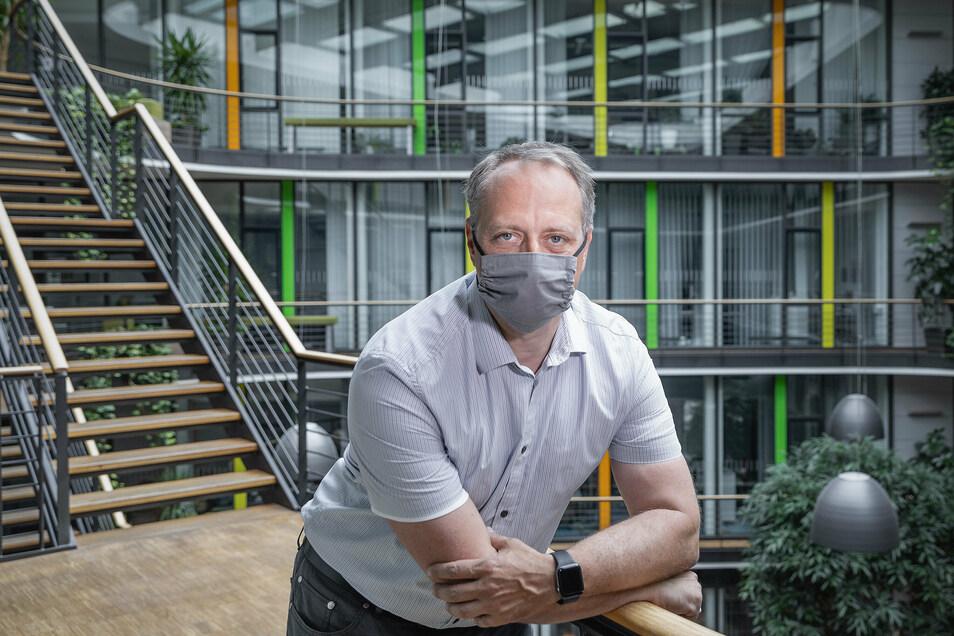 Thomas Grunwald leitet das tierexperimentelle Zentrum des Instituts in Leipzig.