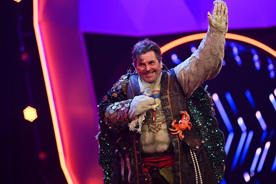 Der ehemalige Modern-Talking-Sänger Thomas Anders wird als Schildkröte entlarvt.