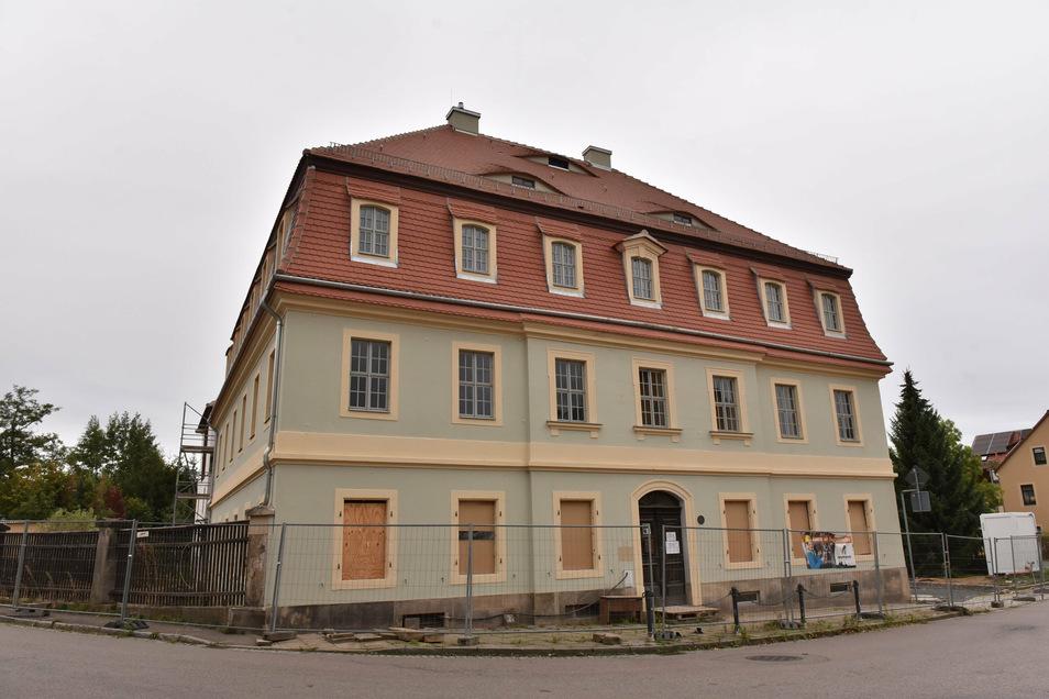 Bis Ende des Jahres sollen die Arbeiten am Lohgerbermuseum in Dipps zum Großteil abgeschlossen sein.