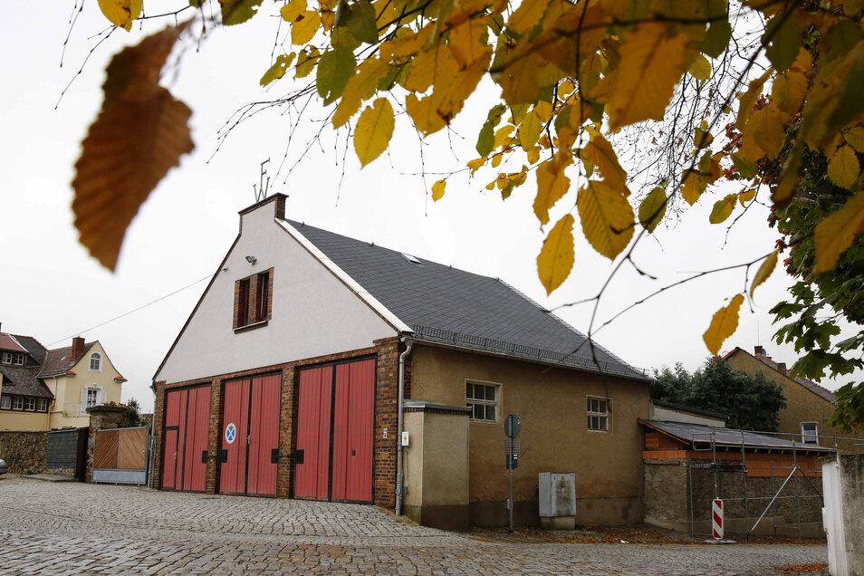 Das alte Elstraer Feuerwehrhaus an der Lessinggasse war schon lange viel zu klein.