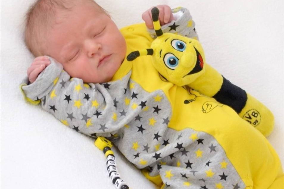 Roman Fellendorf  Geboren am: 28. Oktober Geburtsort: Zittau Gewicht: 3466 g Größe: 53 cm Eltern: Anja und André Fellendorf Wohnort: Zittau