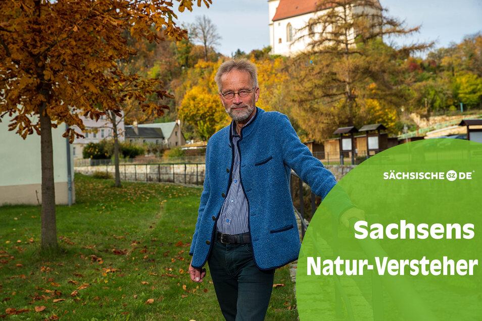 Professor Andreas Roloff in Tharandt, wo er an der Uni Förster und Landschaftarchitekten ausbildet.