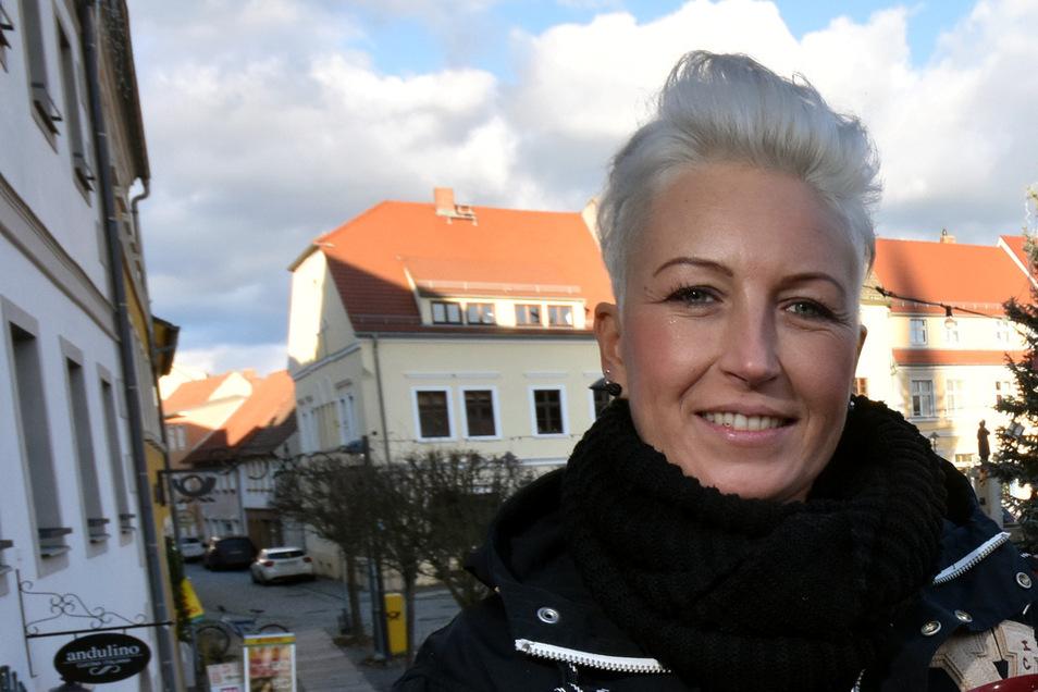 Anja Hillmann vom Team der Lausitzhalle.