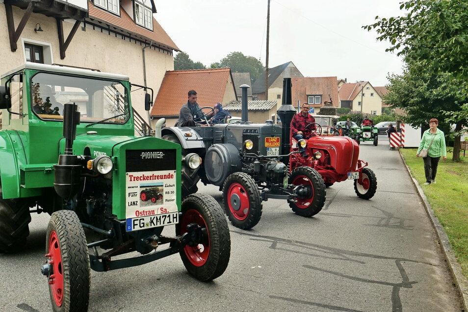 Schon im Vorjahr ein Magnet - die Oldtimerschau mit historischen Traktoren wie Lanz Bulldog und anderen.