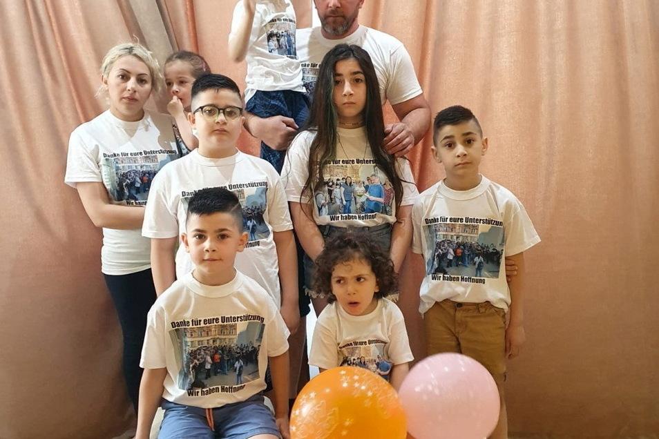 Die Familie Imerlishili wurde in der Nacht am 10. Juni aus Pirna nach Tiflis abgeschoben. Das stößt bei vielen auf Unverständnis. Auch bei der Kirche in der Region.