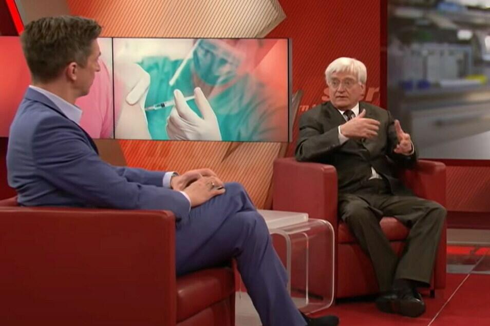 """Winfried Stöcker sprach bei """"Stern TV"""" über seine Impfung."""
