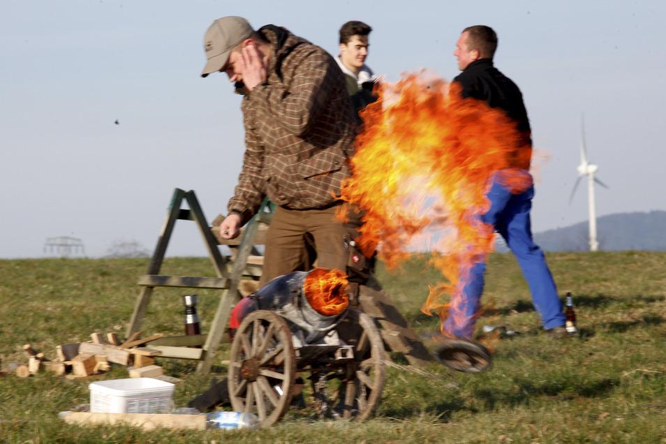 Auch auf dem Horken hat Osterschießen eine große Tradition.