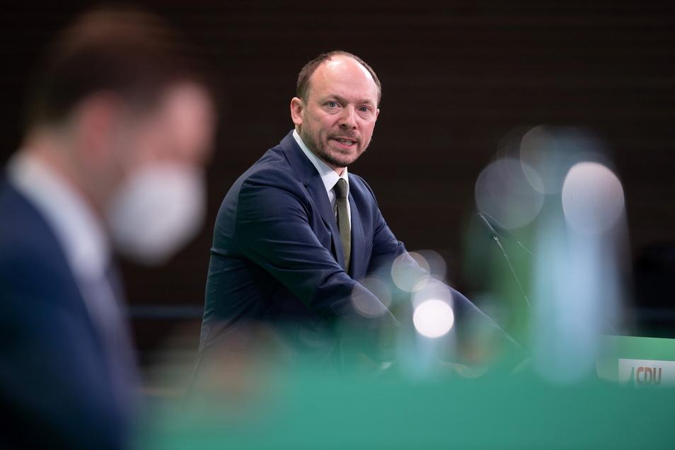 Marco Wanderwitz (CDU) sorgt mit Aussagen zu Hans-Georg Maaßen für Aufsehen.