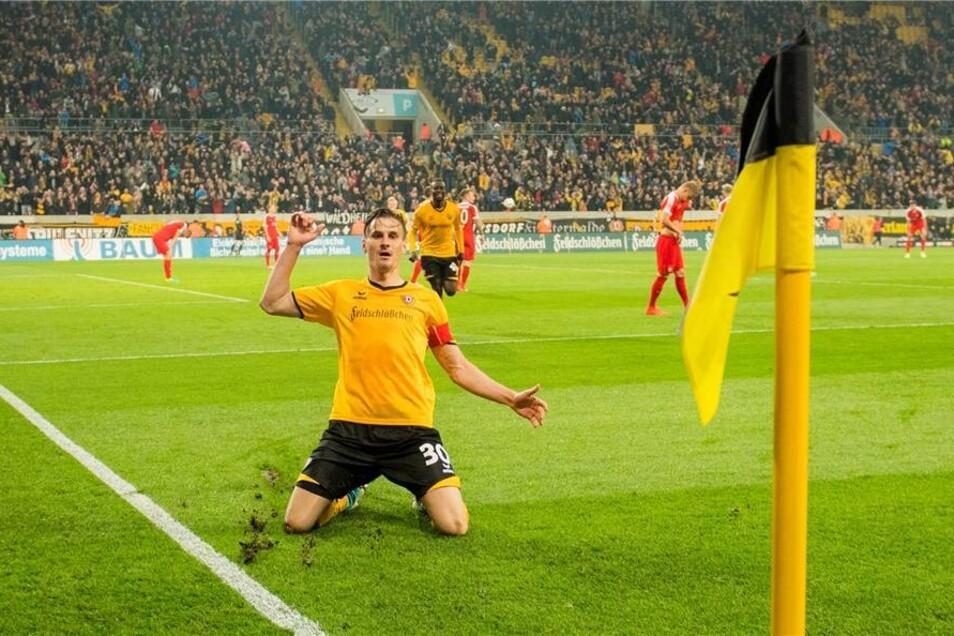 Bis zum nächsten spät gedrehten Spiel dauerte es dann bis zum 27. Spieltag. Im Heimspiel gegen Heidenheim glich erst Erich Berko (75. Minute) die 1:0-Führung der Ost-Württemberger aus, Vier Minuten vor Schluss stellte Stefan Kutschke noch auf 2:1 für Dynamo.