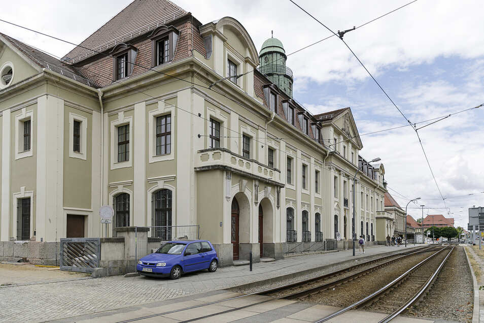 Hier in der alten Post am Görlitzer Bahnhof ist am Sonnabend Tag der offenen Tür.
