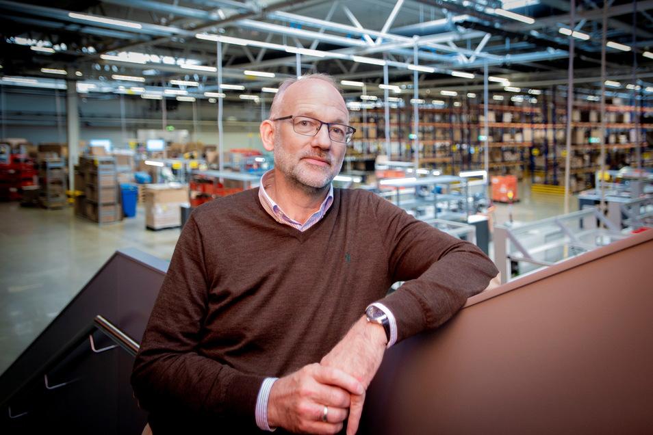 Uwe Heydenreich übernimmt im Oktober die Geschäftsführung Standortes der Schweizer Firma Belimo in Großröhrsdorf.