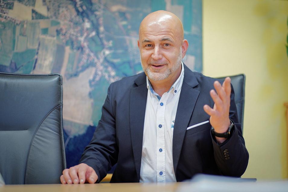 Am 1. September beginnt offiziell die dritte Amtszeit von Obergurigs Bürgermeister Thomas Polpitz.